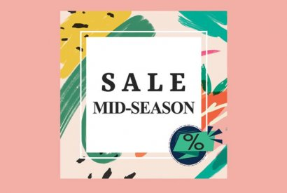 It's time for Mid - season sale!!